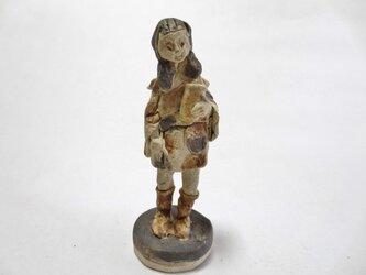 ちびキモノ人形 -茶×黒ーの画像