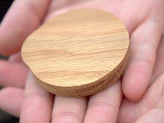 木で作ったシンプルミラー With coverの画像