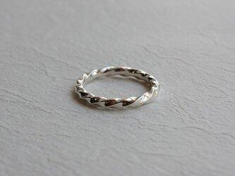 角棒捻指輪 rr-51の画像
