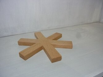 ポットマット*(ブナ18cm)の画像