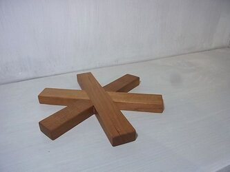 ポットマット*(チェリー18cm)の画像