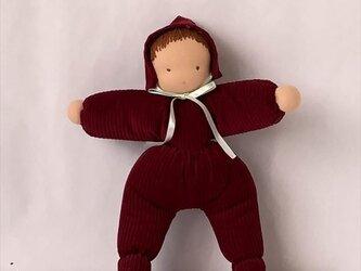 ウォルドルフ人形・抱き人形30cmの画像