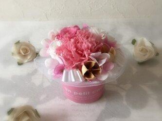カップケーキアレンジピンクの画像
