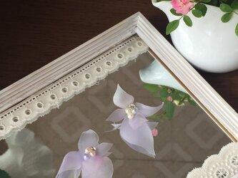 【monokli】flower leaf ~フラワーリーフピアス~の画像