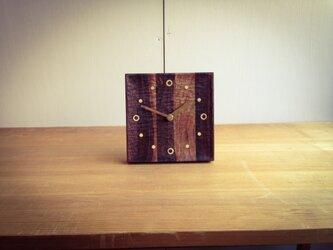 【受注製作品】table clock BWの画像