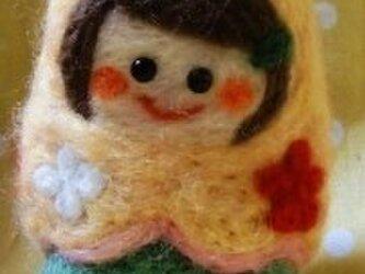 マトリョーシカ 羊毛フェルト♪の画像