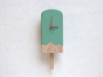 アイスキャンディー振子時計(ミント)の画像