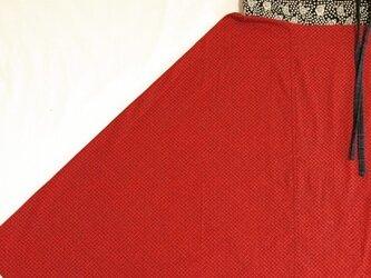 赤×黒 サルエルパンツの画像