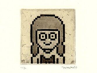 8-bitポートレイト p011の画像