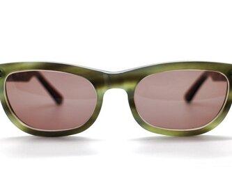 眼鏡職人が造るセルロイドサングラス004-EAの画像