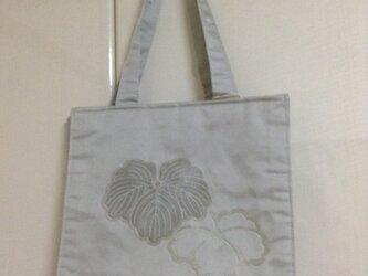 和布 帯 トートバッグ の画像