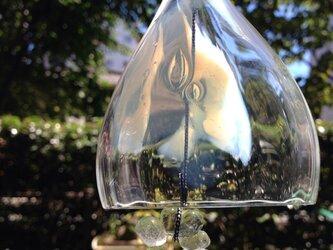 ガラスの風鈴の画像