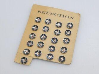 再版 フランスヴィンテージ メタルボタン トリコロールの画像