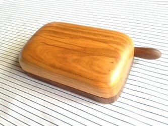 木のバターケース SWの画像