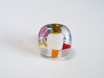 モザイク 2/ガラスのブローチの画像