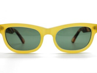 手造りセルロイドサングラス004-YNの画像