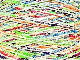 ネップミックス糸 ミックスカラー 84 gの画像