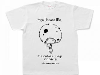キャラクターTシャツ/ChocolateChipCookieの画像