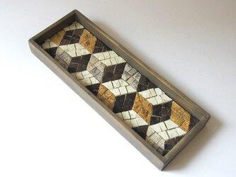 茶流 Smart Tray [Cubes ] yellowの画像