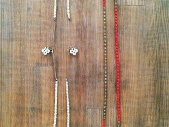 めがねストラップ(マカロニ・ハート)の画像