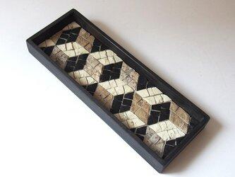 茶流 Smart Tray [Cubes ] blackの画像