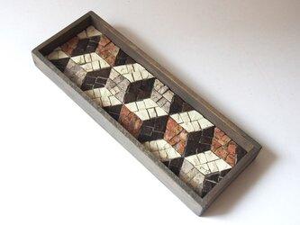 茶流 Smart Tray [Cubes ] pinkの画像