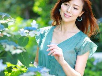 ターコイズピアス Turquoise Move earrings P0041の画像