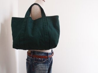 FOREST GREEN TOTE(受注製作)の画像