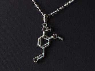 バニリン ネックレス 化学式アクセサリー® の画像