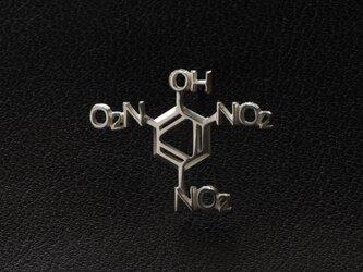 ピクリン酸 化学式ピアス®片耳の画像