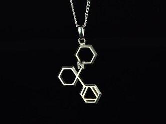 フェンサイクリジン ネックレス 化学式アクセサリー® の画像
