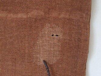 仔猫ちゃんが可愛い蚊帳ミニトートの画像