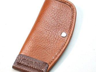 片手で使えるキーケース Mサイズ(Brown)の画像