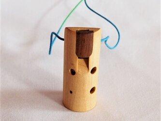 木のオカリナ ハードメープル ソプラニーノ管F管の画像