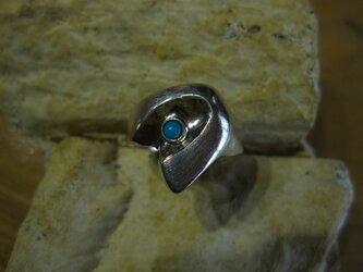 トルコ石SVリングの画像
