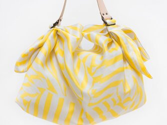 Stripe Yellow & レザーストラップセットの画像