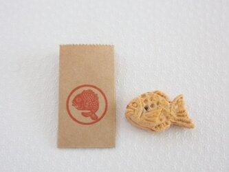 鯛焼き 1個 (6分の1サイズ)の画像