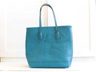 【今季最終再販】ジュピターブルーのトートバッグの画像