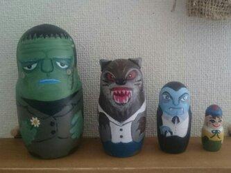 西洋妖怪マトリョーシカ(4人組)の画像