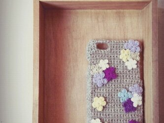 お花のiPhone5/6ケース 【No.1】の画像