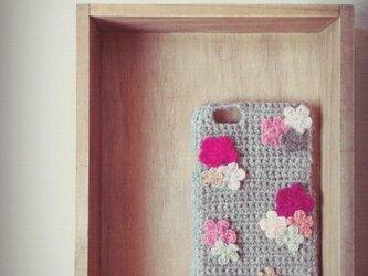 お花のiPhone5/6ケース 【No.3】の画像