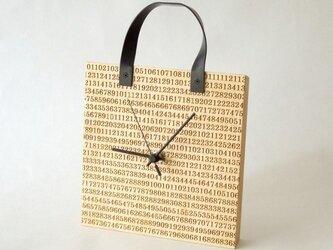 clock54 | number (メープル・HB type)の画像