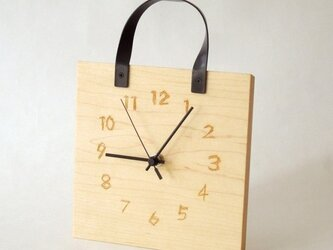 clock54 | free hand(メープル・HB typeの画像