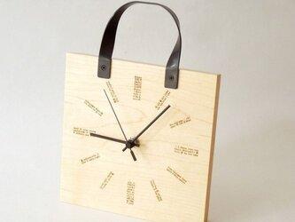 clock54 | world(線・メープル・HB type)の画像