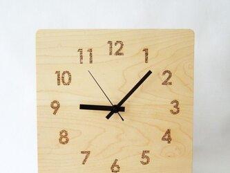 clock54 | world largeWH(メープル)の画像