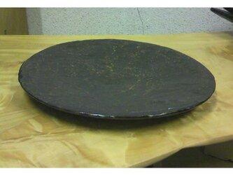 風化木:拭き漆栃古び一尺皿の画像