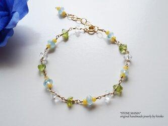 ♡Cool stone bracelet♡の画像