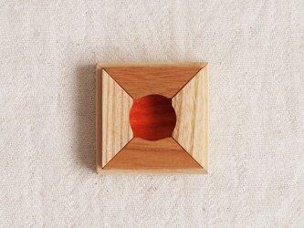 箸置き 四方富士の画像