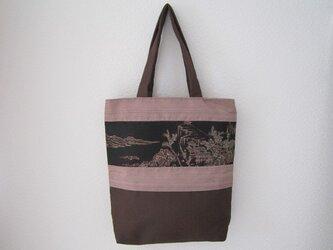 和布のトートバッグの画像
