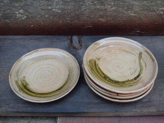 鉄彩丸小皿(5客)の画像